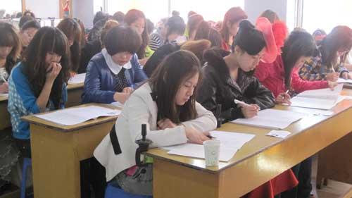 职业技能鉴定考核在大同新世纪化妆学校举行