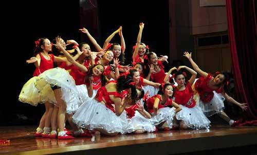 2013年3月28日大同市少儿舞蹈比赛